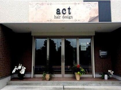 アクトヘアデザイン(act hair design)の写真