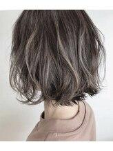 ヘアメイク アプト モカレーベル(HAIR MAKE apt mocalabel)モテ可愛ボブ
