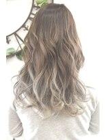 ヘアーサロン エール 原宿(hair salon ailes)(ailes原宿)style323 デザインカラー☆ホワイトラベンダーグラデ