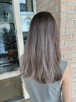 サロンドミルク 原宿(salon de MiLK)ナチュラルクールベージュ 髪質改善 艶髪