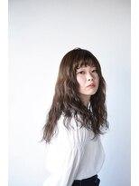 ヘアデザイン ロッコ(hair design ROCCO)ふんわりウエーブ×ナチュラルラベンダーアッシュ