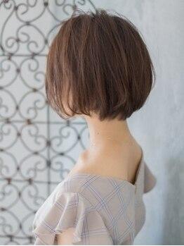 リソ 銀座(RISO)の写真/【カット+ハイライト+フルカラー+Tr¥8000】自然に馴染んで立体感UP☆白髪染めをもっとオシャレに楽しめる♪