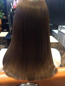バイナルの写真/VINYLのオリジナル縮毛矯正!髪質改善にも◎トレンドを取り入れつつライフスタイルに合わせて提案します♪