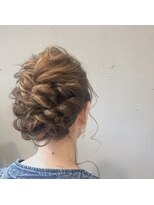 アルマヘアー(Alma hair by murasaki)お呼ばれヘア