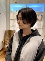 ルッツ(Lutz. hair design)short dark gray