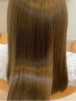 ザボヘアーデザイン(ZABO hair design)の写真/話題の髪質改善トリートメント「Aujuaトリートメント」取り扱いサロン◆ツヤ髪を求めるあなたにオススメ!