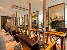 オーブ ヘアー スリーズ 名古屋錦店(AUBE hair cerise)の雰囲気(こだわりの上質空間で長時間の施術もゆったり寛げます。)