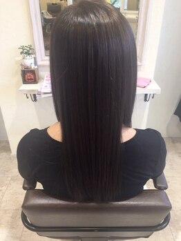 ヘアメイクソエル(hair make Soel)の写真/素敵女子の条件、『髪がキレイな事!』ツヤ、手触り、上質な髪で、気持ちもHAPPY!クセ毛でお悩みの方も◎
