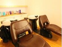 ヘアリラクゼーションリノ (Hair Relaxation Lino)の雰囲気(ゆったりとくつろげる「ユメシャンプー台」☆)