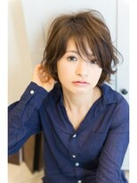 リル ヘアーデザイン(Rire hair design)【Rire-リル銀座-】くせ毛風☆アンニュイショートボブ