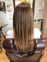 チアー ヘアリラクゼーション(cheer HAIRRELAXATION)美髪成形トリートメント後ヘアスタイル