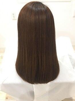大人髪リッシュ(riche)の写真/『大人のストレート』1人1人髪質に合わせて薬剤を調合して、あなただけの理想のストレートヘアを創ります☆