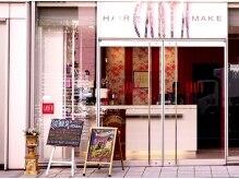 アース 横浜店(HAIR&MAKE EARTH)の雰囲気(大きな扉のお店です!EARTH横浜店)
