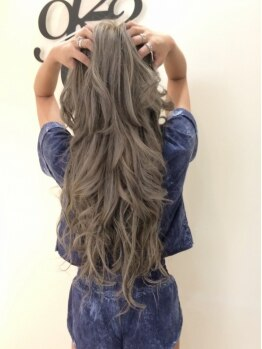 インプルーヴ アートスタイルヘアー(imProve Art style hair)の写真/【最高級人毛レミーエクステ】自然になじんでモチも最高☆へそ下のスーパーロングまで長さ可能♪