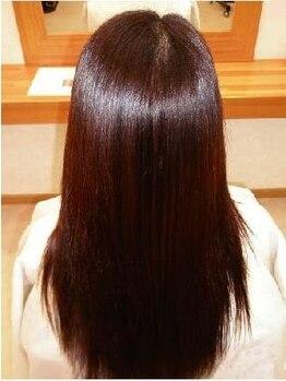 ヘアーライズ Hair Riseの写真/ダメージを軽減した自然な美ストレート☆ダメージレスで艶感たっぷりの仕上がりをご提供します!!