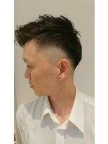 ヘアーリゾートラシックアールプラス(hair resort lachiq R+)《R+》メンズカット☆アシメフェードカット