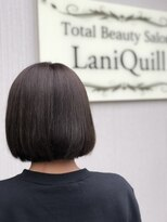 ラニクイール(Lani Quill)くすみカラー×ボブ