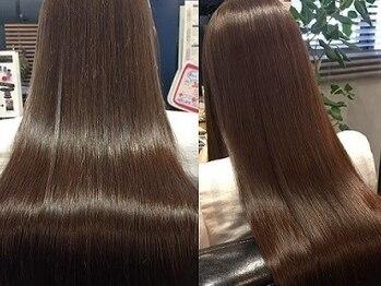 髪質改善ヘアエステサロン スロウ(SLOW by opsia)の写真/ダメージレスに特化したサロン♪ダメージやその他お悩みをできるだけ解決できるよう厳選した商材を使用!