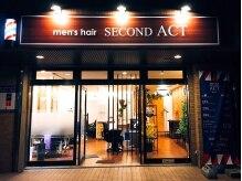 メンズヘア セカンドアクト(men's hair SECOND ACT)の雰囲気(朝9:00~夜20:00まで営業。学校帰りや仕事帰りにもどうぞ。)