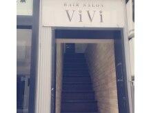 ヴィヴィ(ヘアセット&メイク専門店 VIVI)の雰囲気(入り口☆)