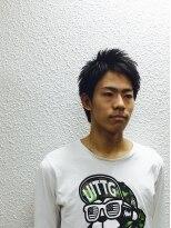 ビューティーボーイ ヤマグチ(BEAUTY BOY Yamaguchi)動きのある質感!ナチュラルブラックショート