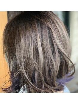 グロウ ヘアデザイン(Grow HAIR DESIGN)の写真/豊富なカラーであなたの理想を形に☆ざっくりした希望でもアナタにぴったりのカラーを提案◎理想へ導く…♪