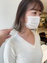 ラノバイヘアー(Lano by HAIR)【lano by hair 銀座】切りっぱなしボブインナーカラー