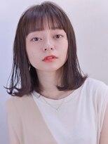 エイチ(H eitf) [エイチ原宿*RUKA]素髪 フレンチボブ ネイビーカラー
