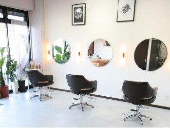 スペランザ(Speranza)の写真/ホッと安心できる癒し系美容室【speranza】が魚住に登場!リラックスして過ごせる空間も魅力♪