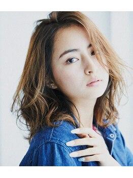 ブーベヘアーデザイン(bube hair design)の写真/常識を覆す新しいカラー《イルミナカラーカット¥5800》今までの概念が変わる程の、艶・透明感を実現♪