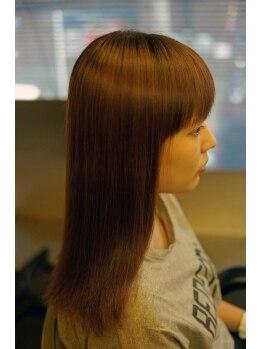 ヘアメイクプリュスの写真/《-髪質改善-》お客様の髪質やくせの状態を考慮し、個々の髪に合わせた施術でまとまらない髪の悩みを解消☆