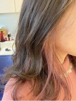 ザボヘアーデザイン(ZABO hair design)の写真/デザインカラーもZABOにお任せ◎アッシュ系にきれいに染まる[アディクシーカラー]が大人気!
