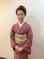 横濱ハイカラ美容院(haikara美容院)フォーマルな着付けとヘアセット