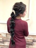 セットサロンエース(Set salon Ace)編みおろしスタイル