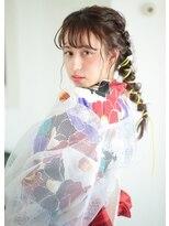 """オゥルージュ(Au-rouge noma)【aurouge noma 鈴木一紗】GIRL'S """"YUKATA"""" HAIRMAKE."""