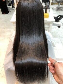 IJK 表参道の写真/《厳選されたトリートメントを贅沢に使用★》独自の方法で髪へ浸透させ、補修し、自分史上最高の美髪へ!!