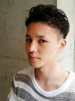 半個室型美容室 スーリールユス(Sourire Yusu)の写真/男性のお客様から支持多数!!全席半個室だから周りを気にせずリラックスできます☆朝のセットも楽々♪