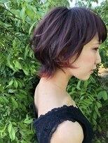 【鳥栖 lala fou ララフー】ガーリーショートヘア