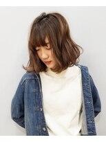 エイム ヘアメイク 横川店(eim HAIR MAKE)eim で叶える♪大人かわいい☆ゆるふわミディ