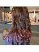 サラ ニジュウイチ ビューティーサイト(SARA21 Beauty Sight)ラズベリーチョコ/裾カラー
