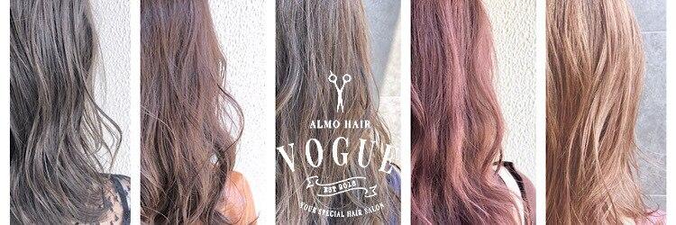 アルモヘアヴォーグ 静岡(ALMO hair VOGUE)のサロンヘッダー