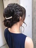 【Fate 天文館】結婚式、同窓会に☆黒髪ミディアムアレンジ☆