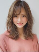 アグ ヘアー ドレス 喜久田店(Agu hair dress)《Agu hair》働く女性にお勧め大人可愛い外ハネセミディ