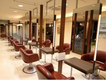 ヘアーアンドメイク アンジュ 中野店(Hair&Make ange)の写真/《平日新規限定》カット&クイックスパ15分¥3240!まずは試しにカットをお願いしてみては?