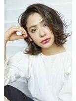 ラレイ(Lalei)【Lalei】大人かわいいボブ × ハイライト【表参道・青山】