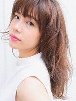 キアラ(Kchiara)髪が柔らかく見えるハイライトカラー