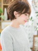 ニュアンスカラー抜け感ヘアくせ毛ショートb大宮30代40代50代!
