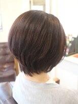 【30代・40代】大人女子のスッキリショートヘア