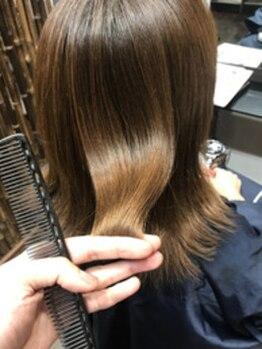 美容室 蓮(REN)の写真/富山で希少な《フォルムメイクトリートメント》導入★エイジング毛やクセ・うねりを緩和してくれる♪