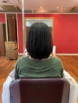 ムード 金沢文庫 hairdesign&clinic mu;d【山崎直樹】 ボブスタイル